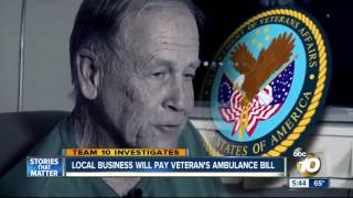 getlinkyoutube.com-Local business will pay veteran's ambulance bill