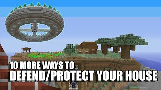 getlinkyoutube.com-10 Ways To Defend/Protect Your House In Minecraft! (Episode 2)