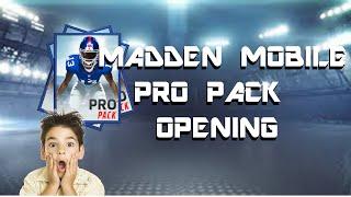getlinkyoutube.com-25 Pro Pack Opening!! Madden Mobile 16!