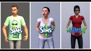 getlinkyoutube.com-♦ Sims 2 vs Sims 3 vs Sims 4 : Life (Part 1)
