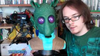 star wars greedo life size 1:1 scale bust statue by sideshow collectibles review