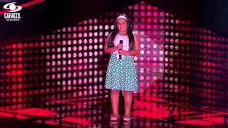getlinkyoutube.com-Danna cantó 'Corre' de Jesse & Joy  – LVK Colombia – Audiciones a ciegas – T1