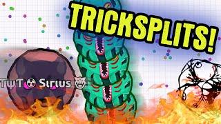 getlinkyoutube.com-TRICKSPLIT GAMEPLAY // Agario Gameplay // TYT Agar.io