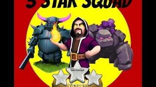 getlinkyoutube.com-How To 3 Star with TH8 GoWiPe- Clan War Attacks