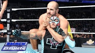 getlinkyoutube.com-Big Show & Rey Mysterio vs. The Real Americans: SmackDown, Jan. 24, 2014