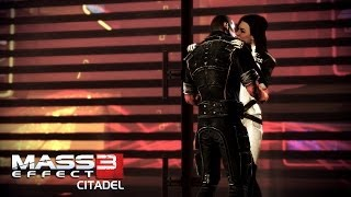 "getlinkyoutube.com-""Mass Effect 3: Citadel [DLC]"", All invitation scenes with squadmates at apartment"