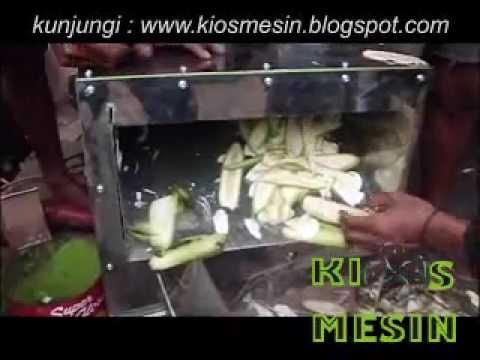 mesin perajang, pengiris, potong keripik pisang dan singkong