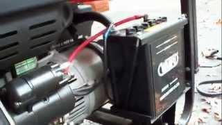getlinkyoutube.com-6KW ETQ Diesel Generator Startup