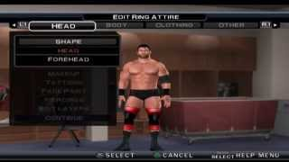 WWE SvR 2011 How to make Curtis Axel 2014 (RybAxel Attire)