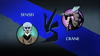 getlinkyoutube.com-Shadow Fight 2 - Sensei vs Crane