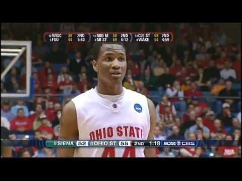 #9 Siena vs #8 Ohio State Ncaa Tournament 1st Round 2009 (2nd Half)