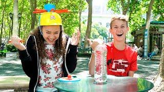 getlinkyoutube.com-Wet Head Challenge!  (MattyBRaps vs Gracie Haschak)