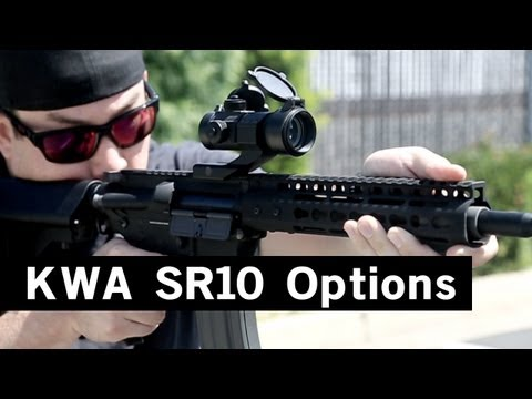 Airsoft GI - What Else Is There?  KWA SR-10 Edition - ASGI Custom Noveske and Troy Mid Length M4s