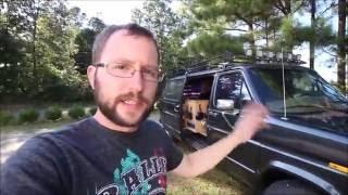 getlinkyoutube.com-Updated Van Tour - A look in my Cargo Van/ Camper Van Build.