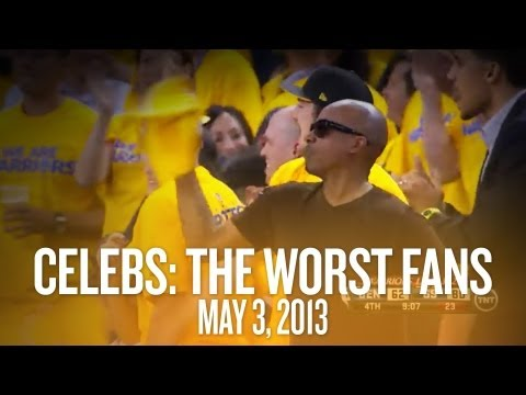 NBA Playoffs: Celebrities are the worst fans - The Daily Win