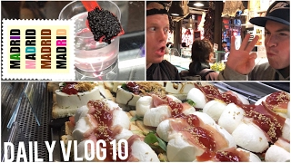 MUNCHIES IN MADRID🇪🇸 Mercado San Miguel Insane Tapas Food🔥 Like Fuck That's Delicious w/ iPhone 7