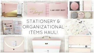 Stationery & Organizational Items Haul ♡ Target, HomeGoods, Marshalls, Michael's, & Nordstrom