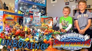 getlinkyoutube.com-Skylanders Superchargers EPIC Starter Set Unbox (Wii, Wii U, PS4, Dark Edition)