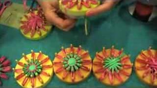 getlinkyoutube.com-Vintage Flower Looms - CRAFT Video Podcast