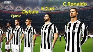 PES 2018 | Real Madrid Vs Juventus | C.RONALDO Player Of JUVENTUS | Gameplay PC