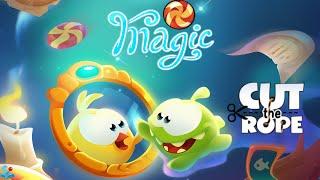 getlinkyoutube.com-Cut The Rope: Magic - Mushroom Land Walkthrough All Levels