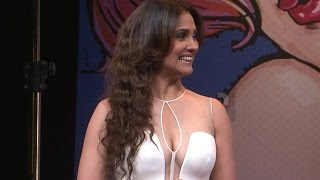 Lara Dutta's HOT B00B Show for a Photoshoot