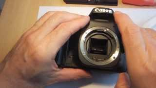 Error 99 Replacing Shutter on Canon Canon 30D - замена затвора (p. 1)
