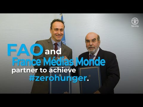 FAO and FMM Partner to achieve#ZeroHunger