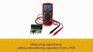 getlinkyoutube.com-Measuring capacitance without desoldering capacitors from a PCB