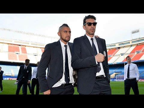 Atletico Madrid-Juventus, la vigilia dei bianconeri - Bianconeri build-up