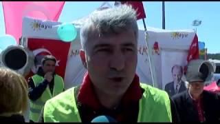 Cumhurbaşkanı Sarıyer'de HAYIR çadırını ziyaret etti.