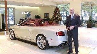 getlinkyoutube.com-2016 Bentley Continental GT V8 S Convertible Review