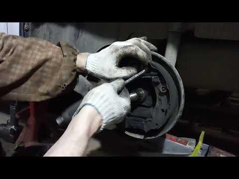 Логан, Сандеро: замена подшипника ступицы заднего колеса ч.2