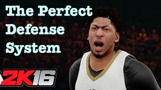 NBA 2K16 Tips Lockdown Defense Tutorial How to Defend On Ball Defensive Settings NAPP. #9