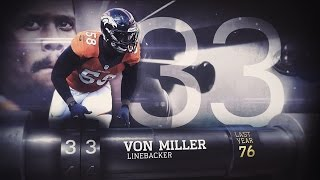 getlinkyoutube.com-#33 Von Miller (LB, Broncos) | Top 100 Players of 2015