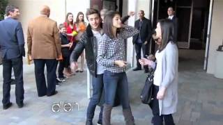 getlinkyoutube.com-Taylor Swift & Zac Efron prank Selena Gomez, Justin Bieber, Betty White & Akon