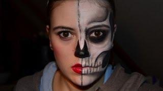 getlinkyoutube.com-Halloween - Half-Skull-Doll