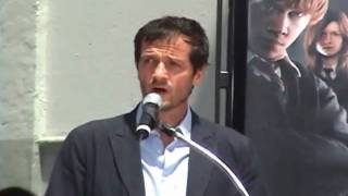 David Heyman\'s speech at Hand/Wand/Foot Ceremony