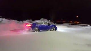 getlinkyoutube.com-2016 Subaru WRX Snow Drift 4K