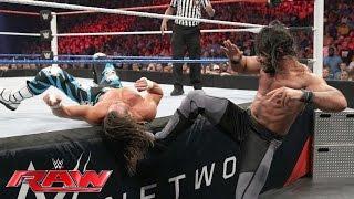 getlinkyoutube.com-Dolph Ziggler vs. Seth Rollins: Raw, July 4, 2016