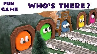 getlinkyoutube.com-Play Doh Surprise Egg Guess The Engines 5 Thomas The Tank Play-Doh Thomas Y Sus Amigos Kids Toys