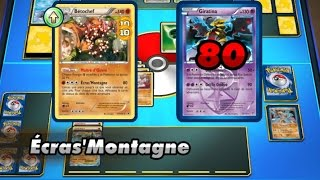 getlinkyoutube.com-Match de cartes Pokemon n°18 - La puissance du type combat !