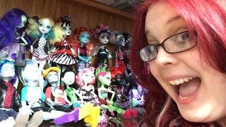 getlinkyoutube.com-Epic Doll Collection 2015 - Ever After High, Monster High, Disney,  Equestria Girls, Novi-205 Dolls!