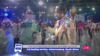 Pastor Chris Casts Out Devils, Restores the Sick, at the Healing Service