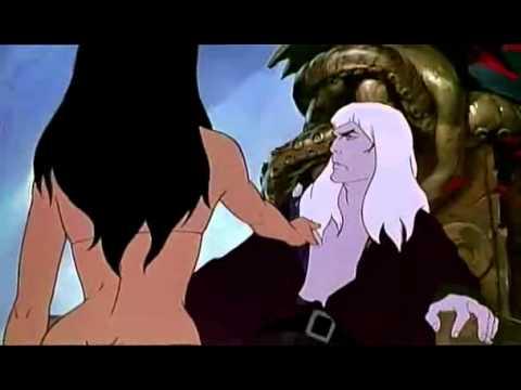 Tygra: Hielo y Fuego - Escena donde Necron trata con la princesa