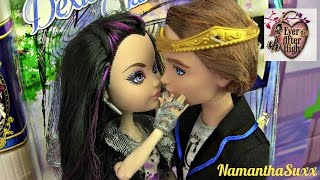 getlinkyoutube.com-EVER AFTER HIGH RAVEN QUEEN & DEXTER CHARMING FAIRY FIRST DATE 2 PACK DOLL REVIEW VIDEO!!! :D!!