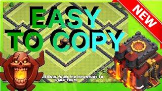 getlinkyoutube.com-Slow & Easy To Copy - The Spork | TH10 Trophy/War Base | Re-Take On Popular Base | Clash Of Clans