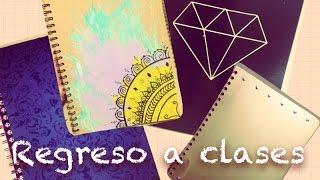 getlinkyoutube.com-DIY Regreso a Clases! Estiliza tus cuadernos :) - TatiMakeUp