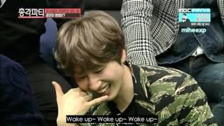 getlinkyoutube.com-[ENG SUB] Bachelor Party - Kangin, Eunhyuk and N's Morning Call