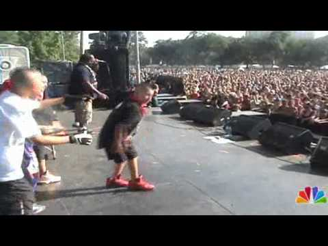 CTFB Crew performs w/ Uncle Raekwon the Chef @ the Pitchfork Music Fest 2010